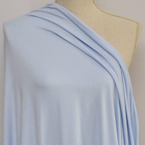 Nouvel Bamboo Rayon Spandex - Ice Blue - 1/2 meter
