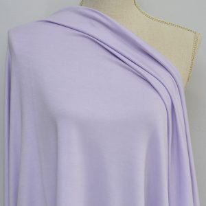 Nouvel Bamboo Rayon Spandex, Pale Lilac - 1/2 meter