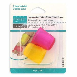 Flexible Thimbles - 2pc Pkg