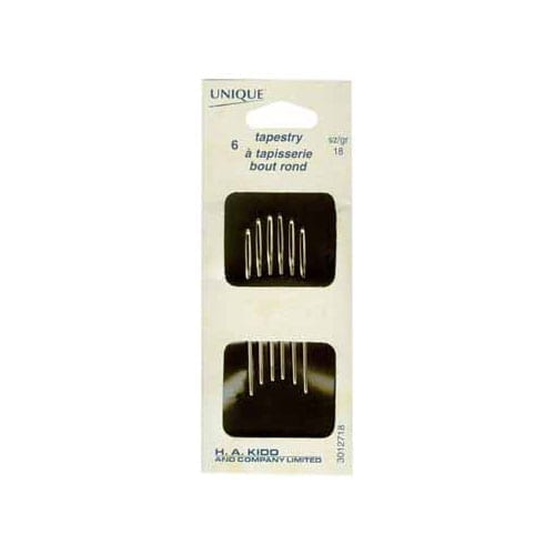 Tapestry, Hand Sewing Needles, sz 18, 6 count