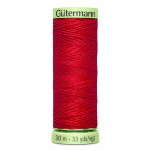 Gutermann Heavy-Duty/Top Stitch Thread, 410 Scarlet - 30m