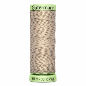 Gutermann Heavy-Duty/Top Stitch Thread, 506 Sand - 30m