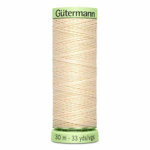 Gutermann Heavy-Duty/Top Stitch Thread, 800 Ivory - 30m
