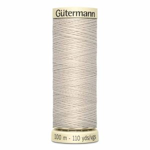 Gutermann Sew-All Thread, 070 Dark Bone - 100 m