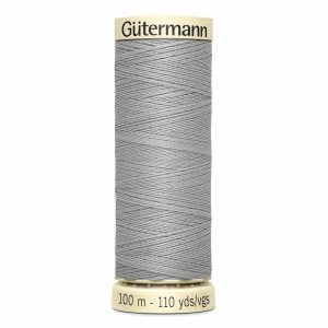 Gutermann Sew-All Thread, 102 Mist Grey - 100 m