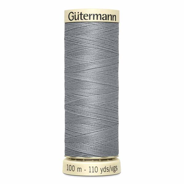 Gutermann Sew-All Thread, 110 Slate - 100 m