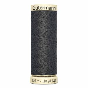 Gutermann Sew-All Thread, 125 Charcoal - 100 m