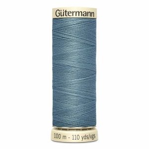 Gutermann Sew-All Thread, 128 Medium Grey - 100 m