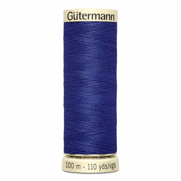 Gutermann Sew-All Thread, 263 Geneva Blue - 100 m