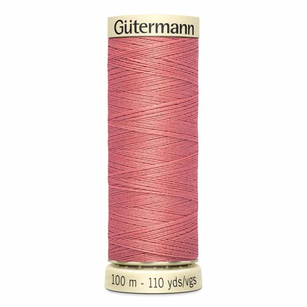 Gutermann Sew-All Thread, 352 Coral Rose - 100 m