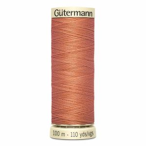 Gutermann Sew-All Thread, 363 Dark Peach - 100 m