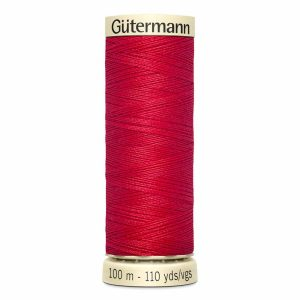 Gutermann Sew-All Thread, 410 Scarlet - 100 m