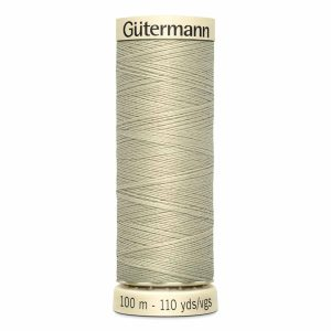 Gutermann Sew-All Thread, 522 Corn Silk - 100 m