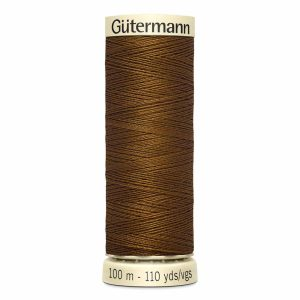 Gutermann Sew-All Thread, 553 Mink Brown - 100 m