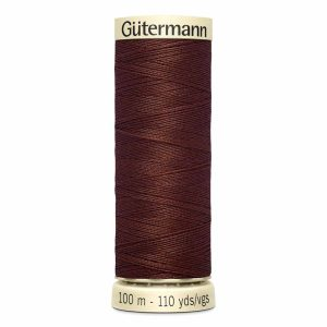 Gutermann Sew-All Thread, 578 Chocolate - 100 m