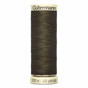 Gutermann Sew-All Thread, 580 Bitter Chocolate - 100 m