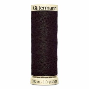 Gutermann Sew-All Thread, 596 Brown - 100 m