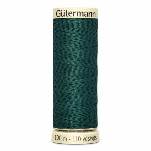 Gutermann Sew-All Thread, 642 Ocean Green - 100 m