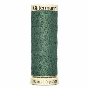 Gutermann Sew-All Thread, 646 Steel Green - 100 m