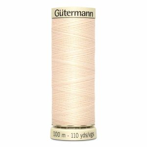 Gutermann Sew-All Thread, 800 Ivory - 100 m