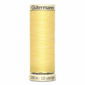 Gutermann Sew-All Thread, 805 Cream - 100 m
