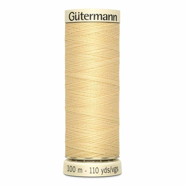Gutermann Sew-All Thread, 815 Canary - 100 m