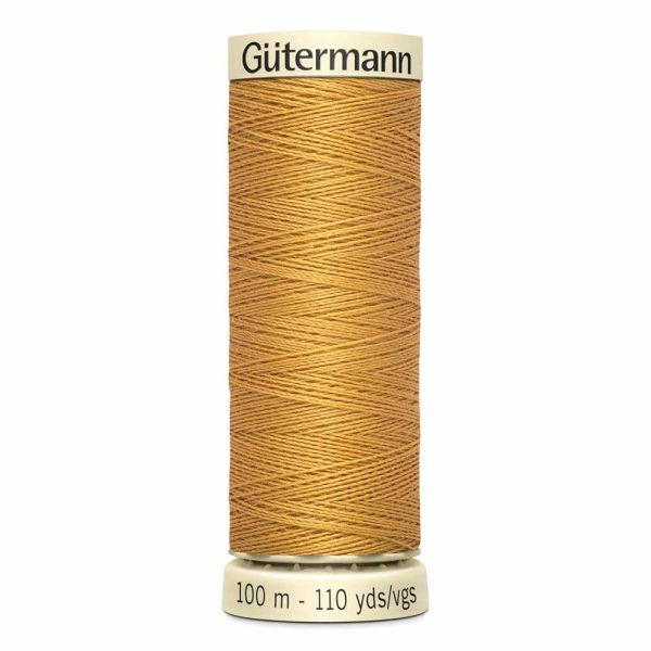 Gutermann Sew-All Thread, 865 Gold - 100 m