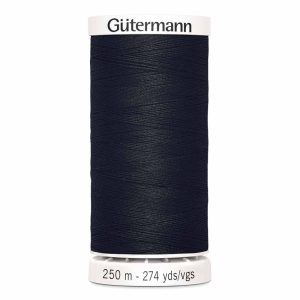 Gutermann Sew-All Thread, 010 Black - 250 m