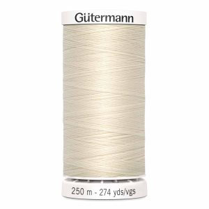 Gutermann Sew-All Thread, 022 Eggshell - 250 m