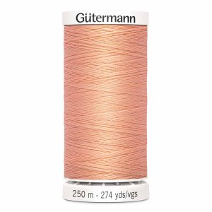 Gutermann Sew-All Thread, 365 Peach - 250 m