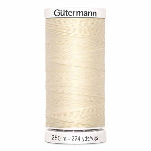 Gutermann Sew-All Thread, 800 Ivory - 250 m