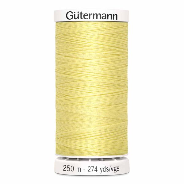 Gutermann Sew-All Thread, 805 Cream - 250 m