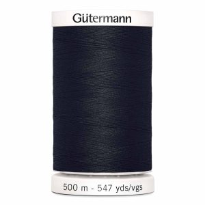 Gutermann Sew-All Thread, 010 Black - 500 m