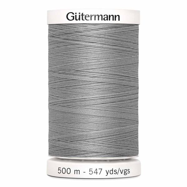 Gutermann Sew-All Thread, 102 Mist Grey - 500 m