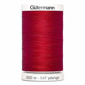 Gutermann Sew-All Thread, 410 Scarlet - 500 m