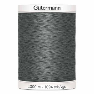 Gutermann, Sew-All Thread, 115 Grey - 1000 m