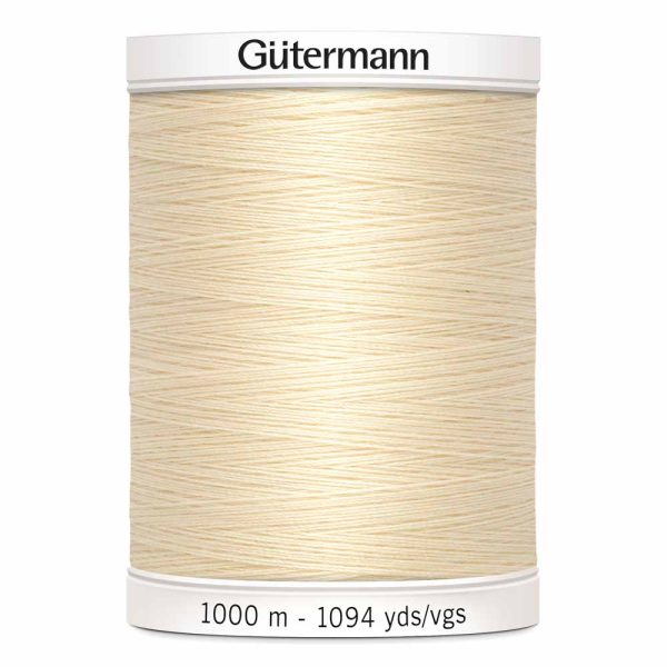 Gutermann, Sew-All Thread, 800 IVORY - 1000 m