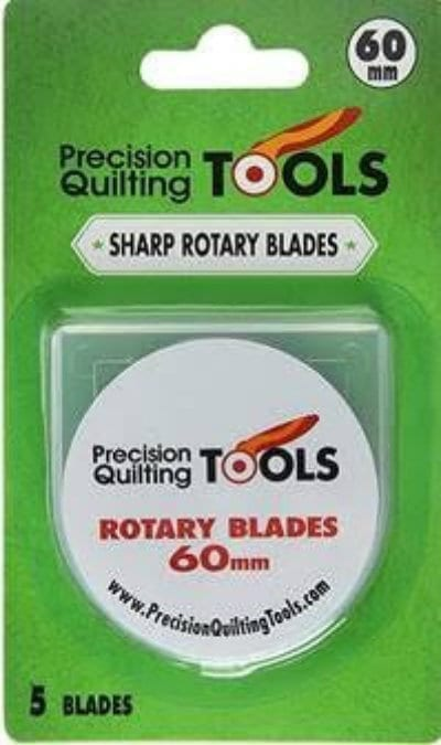 "Replacement Blades for Rotary Cutter, 60mm/2.36"", 5 count"