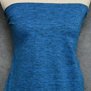 Athleisure Double Brushed Poly, Space Dye Ice Blue - 1/2 meter