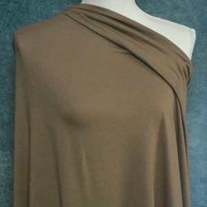 Bamboo Cotton Jersey, Americano - 1/2 meter