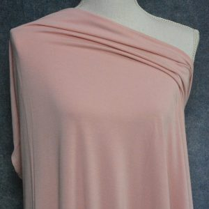 Bamboo Cotton Jersey, Mellow Rose - 1/2 meter