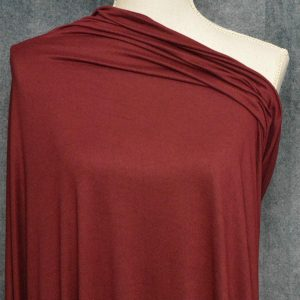 Double Brushed Poly Spandex, MAHOGANY - 1/2 meter
