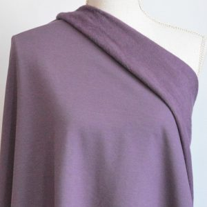 Bamboo Sweatshirt Fleece, Hyacinth - 1/2 meter