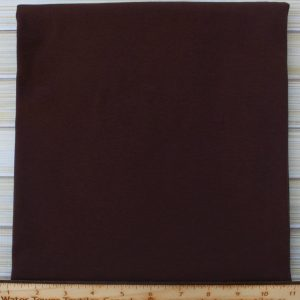 Cotton Spandex, 200 GSM, Chocolate - 1/2 meter
