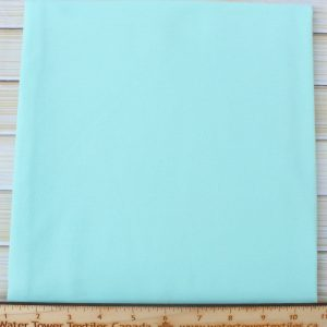 Cotton Spandex, 200 GSM, Mint - 1/2 meter