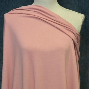 Cotton Spandex, 200 GSM, Rose - 1/2 meter