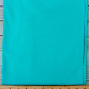Cotton Spandex, 200 GSM, Turquoise - 1/2 meter