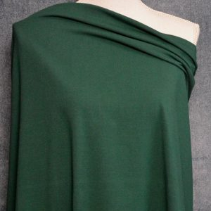 Cotton Spandex, 92/8 - 240 GSM, Forest - 1/2 meter