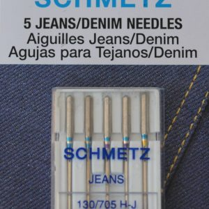 Schmetz Jeans/Denim Needles, 5 count