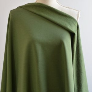 Bamboo Sweatshirt Fleece, Moss - 1/2 meter